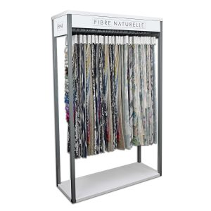 This is an image of the Fibre Naturelle stand for sample hangers
